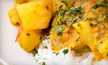 $22 for Two Vegetable Curries &amp; Two Soft Drinks (up to $30 value) at New Punjab Indian Restaurant