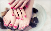 $16 for a Manicure and Pedicure at Gwapa Beauty Spa