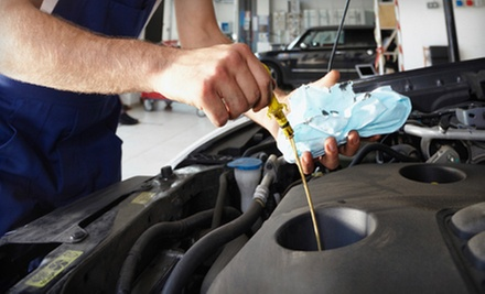 $56 for Oil Change, 21-pt Inspection & Wiper Blade Replacement  at Auto Service Express