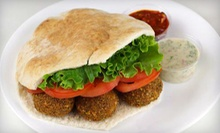 $3 for a Falafel Sandwich at Haifa Cafe - Adams St.