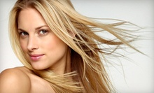 $23 for a Haircut and Conditioning Treatment at Nail Talk and Hair