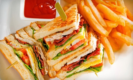$10 for Two Sandwiches, Two Fries and Two Drinks (Up to a $20 Value) at Tasty Delish Foodcart