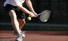 $7 for an 8 a.m. Cardio Tennis Class at In Tennis, LLC