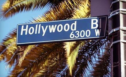 $38 for a Multimedia Tour of Hollywood and Beverly Hills at 2:30p.m. at Legends Of Hollywood Tours