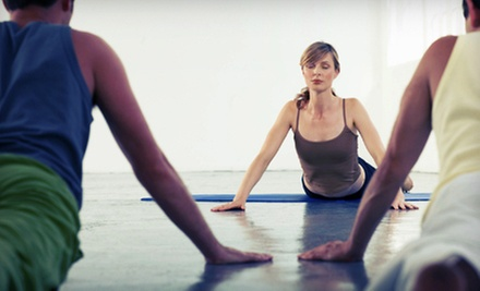 $8 for a Beginner's Yoga Class at 11 a.m. at Yin Yang Yoga Center