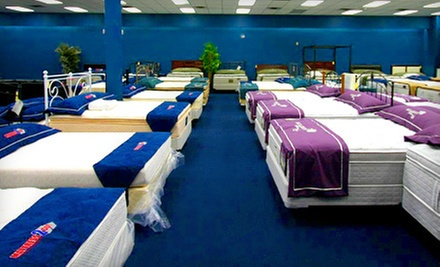 $25 for $100 Worth of Mattress Sets at Mattress 2 Go!