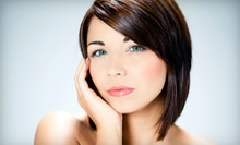 $125 for Pravona Perfections Ultimate Keratin Smooth Out Treatment at Curl Up &amp; Dye Hair Salon