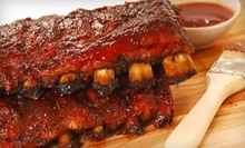 $10 for $16 at Railroad Crossing BBQ
