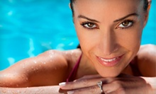 $49 for a 60-Minute Body Wrap  at Island Sun Tanning