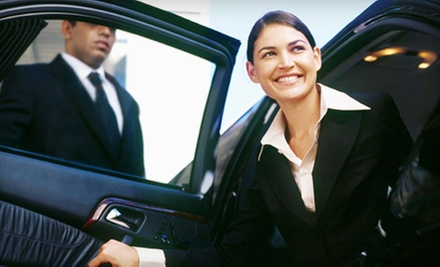 $55 for a One-Way Trip to Logan Airport in a Sedan at Boston Best Limo