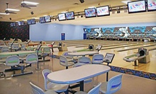 $11 for Two People, Two Games Each and Shoe Rental at Three Point Bowling