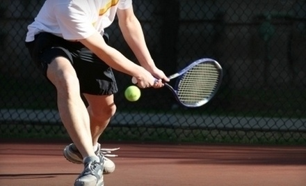 $18 for $25 at George Washington Tennis Center