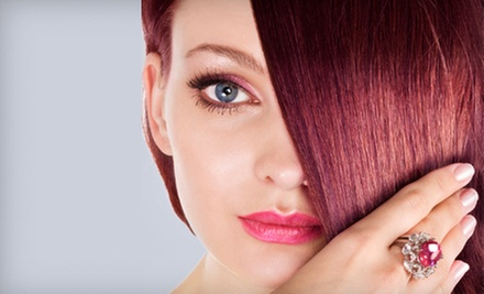 $66 for a Women&#x27;s Color, Cut and Style at Hair Fusion Salon &amp; Colour Bar