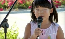 $9 for  4:30pm Musical Singing and Acting Class at Eutonic Music