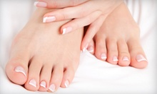 $35 for a Manicure and Pedicure at Charles Ifergan Salon and Day Spa