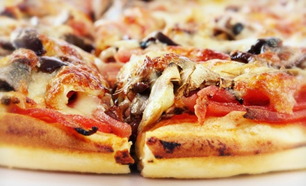 $20 for Two Specialty Pizzas at Pinhead&#x27;s Pizza Expresso