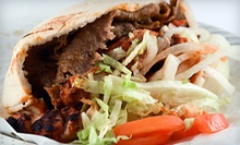 $5 for a Signature Gyro Wrap and Side Greek Salad at Gyro King- Mesa