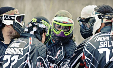 $15 for All Day Entry, Equipment, Unlimited Air, and 200 Rounds  at Allstar Paintball