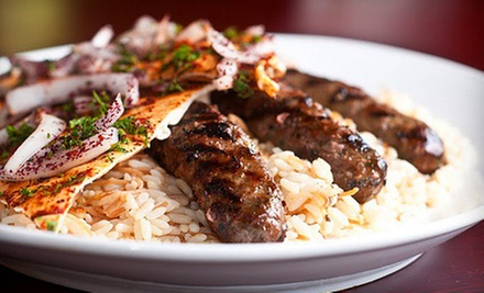 $10 for $20 at Al Wadi Lebanese Restaurant