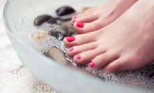 $35 for for a Full Set of Acrylic Nails and a Deluxe Pedicure at Citi Nails & Spa