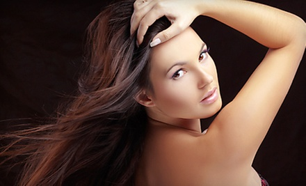 $40 for A Ladies Cut and Steam Condition Treatment at Dazzle