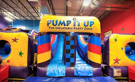 $5 for an Admission to Pop-In Playtime at Pump It Up-Elmhurst