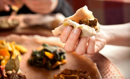 $4 for $8 at Addis Ababa Restaurant DC