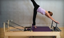 $12 for an Open Level Pilates Mat Class at 11 a.m. at Powerhouse Pilates