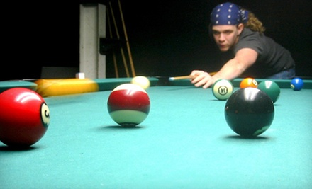 $20 for 2 Hours of Pool &amp; Pizza for Two (Up to $42 Value)  at Eastside Billiards
