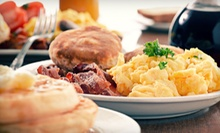 $10 for Brunch for 2: 2 Omelets, Grits, Hash Browns, and 2 Pancakes at It's Just Good