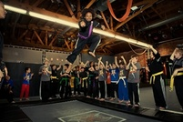 $10 for 7:00 p.m. Trampoline/Acrobatics Class at XMA (Xtreme Martial Arts) Headquarters