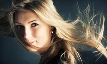 $75 for a Haircut, Color, &amp; Style at Pannos Salon