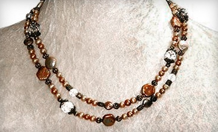 $15 for $30 Worth of Jewelry  at Samantha Rose Designs