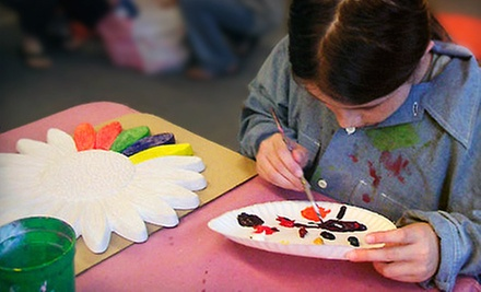 $15 for Kid&#x27;s Drop-in Art Class at 10:30 a.m. at Studio Art