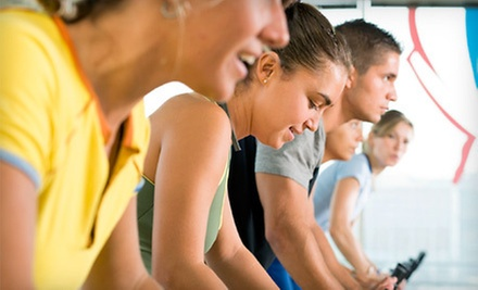 $5 for an All Levels Virtual Spin Class at 4 p.m. at Elm Street Fitness