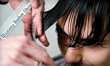 $52 for a Deluxe Straight Razor and Hot Towel Shave and Haircut at Illusions Barber Shop