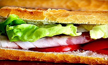 $2 for  $4 Worth of Breakfast Platters, Burritos & Sandwiches at Coffee Oasis