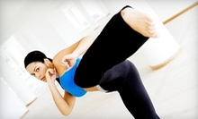 $7 for 12pm Kickboxing Fitness Class at Fierce Fitness