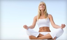 $10 for an 11am Yoga Class at The Yoga Garden