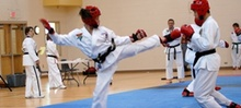$3 for 9:30am Fitness Kickboxing Class at Peck's TaeKwonDo america