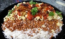 $8 for a Koshari, Salad and Soda at Lucy's Corner