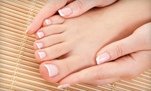 $24 for Salon Manicure &amp; Pedicure at Salon Dion