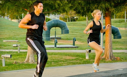 $8 for a Fit-Camp Class at 8 a.m. at Sherpa Fitness