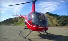 $99 for One-Hour Helicopter-Pilot Training Class and Flight  at Southern California Helicopter