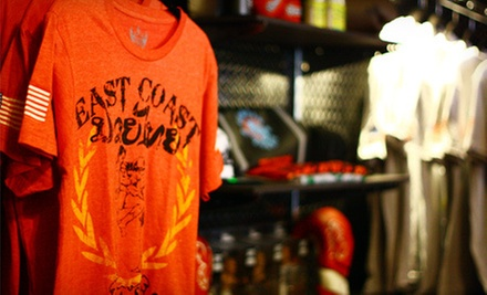 $15 for $30 at East Coast MMA Fight Shop