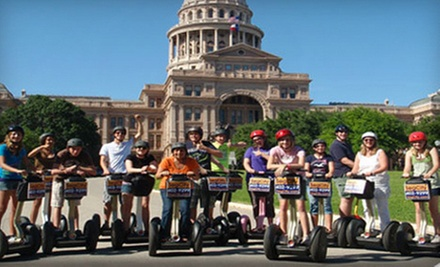 $30 for Segway Cruise at 3 p.m. at SegCity Austin