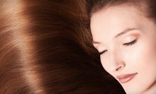 $50 for Awapuhi Wild Ginger Treatment, Haircut, Blowdry, Styling at Guys &amp; Dolls Hairkuts