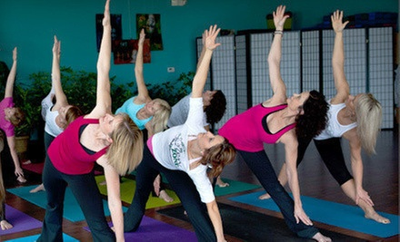 $7 for a Vinyasa Flow Yoga Class at 5:45 p.m. at The Zen Zone