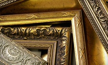 $40 for Diploma, Canvas Stretching or Poster Framing at Galleria Art & Frame