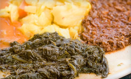$12 for $24 at Gojo Ethiopian Restaurant